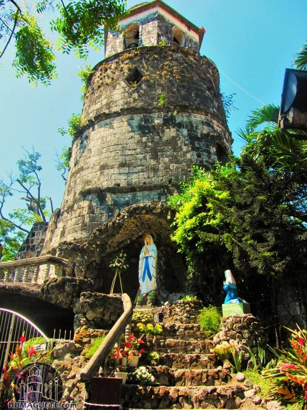 Dumaguete belfry and mary