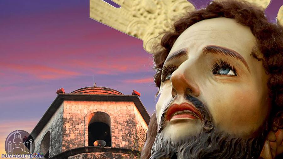 Dumaguete city belfry and jesus