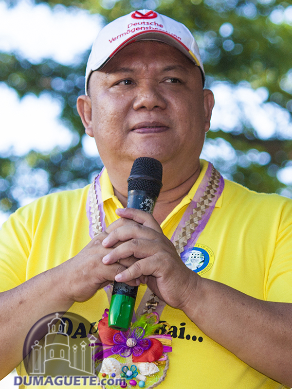 Dauin 2017 Mayor Neil Credo