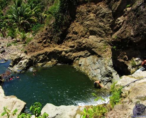 Pinukawan Falls in Vallehermoso