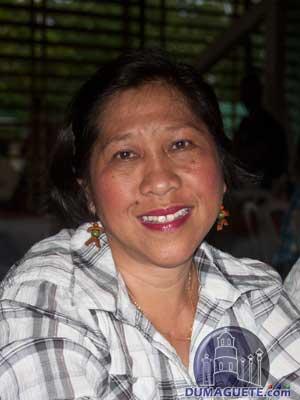 Barangay Captain Delia Sinagan