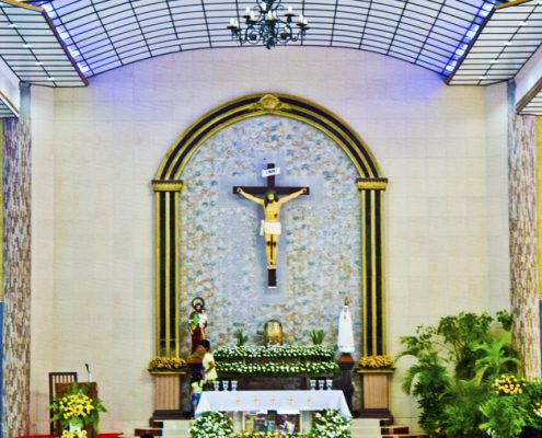 Vallehermoso Saint Isidore Church altar