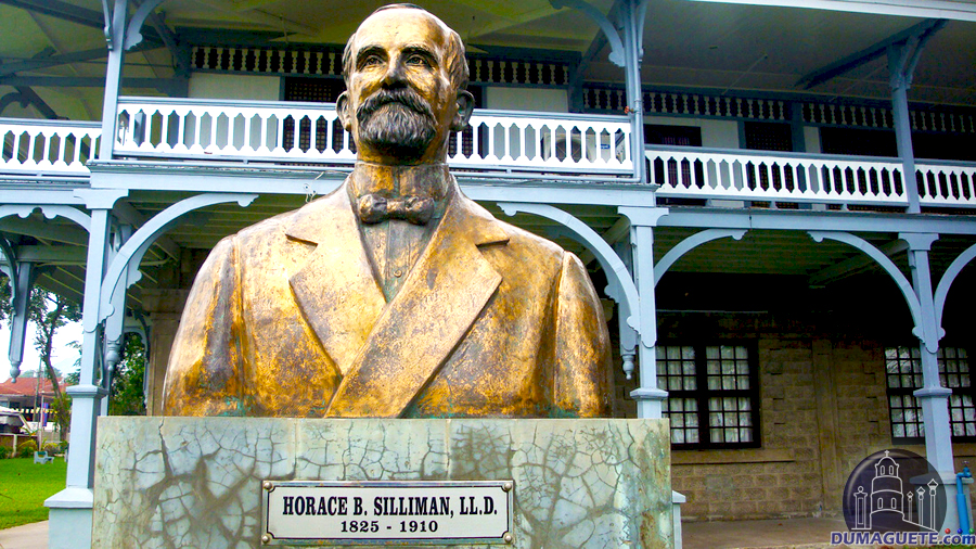 Silliman statue of Horace B. Silliman