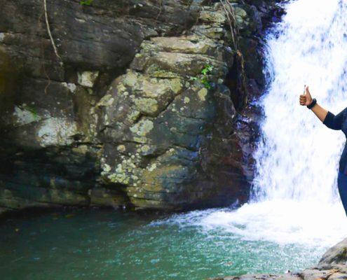 Tayasan Negros oriental Dam Site Falls