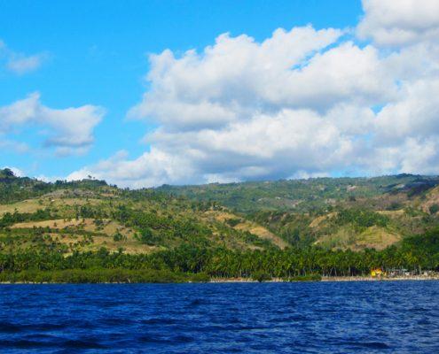 Vallehermoso Negros Oriental ocean view