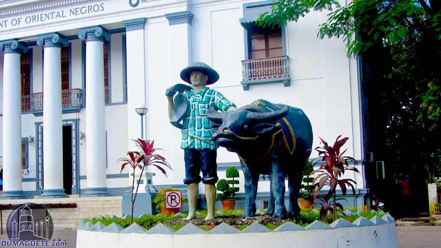 Dumaguete Freedom Park Carabao Statue