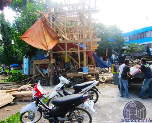 Buglasan 2014 - Booth Construction