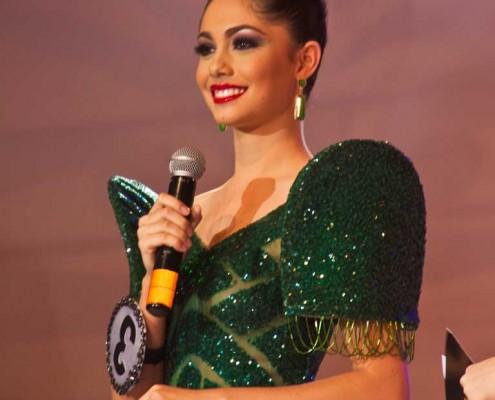 Miss Dumaguete 2013 in Gown Lorraine C. Kendrickson