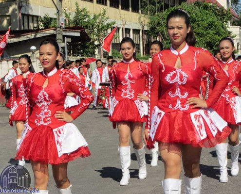 Civic & Military Parade - Buglasan 2014