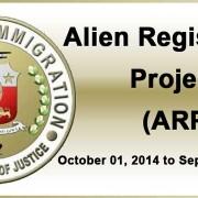 Alien Registration Project - ARP