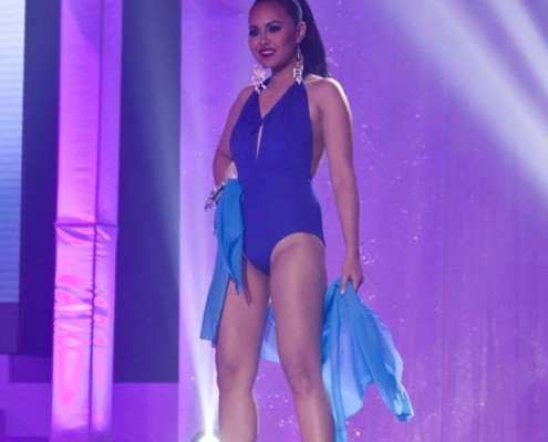 Miss Menchit Maraña on Swimsuit Attire