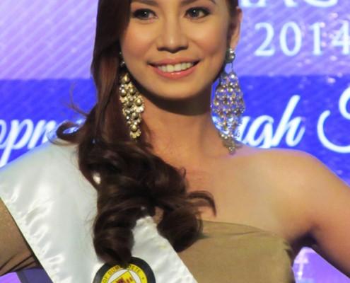 Miss Dumaguete 2014 Contestant 4 Crichele Geralde