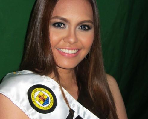 Miss Dumaguete 2014 Contestant 6 Miss Mechit Maraña