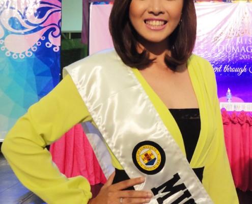 Miss Dumaguete 2014 contestant 7 Miss Ritchly Cais