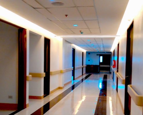 Negros Oriental Provincial Hospital New Building whole way 2nd floor