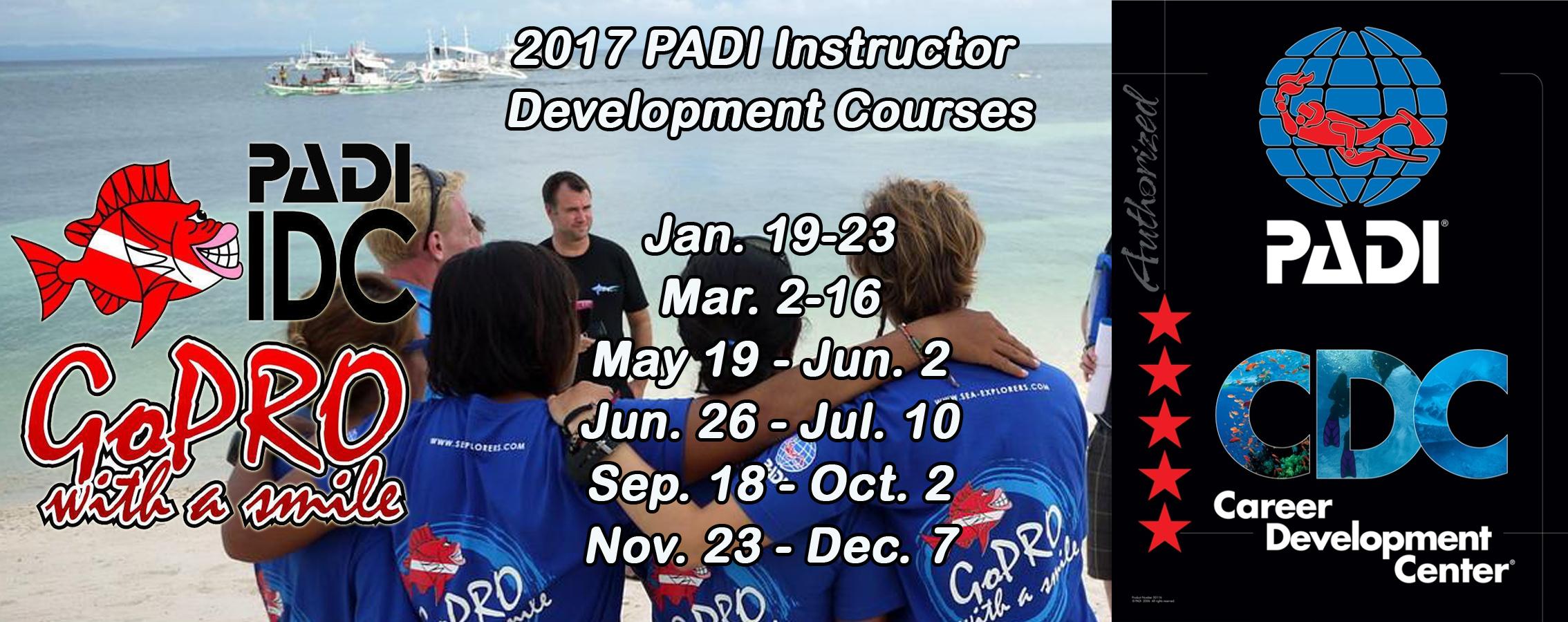 Sea Explorers PADI IDC 2017