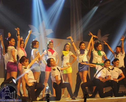 Miss Dumaguete on their Production Number