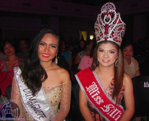 Miss Dumaguete 2014 2nd runner up and Miss Silliman 2014