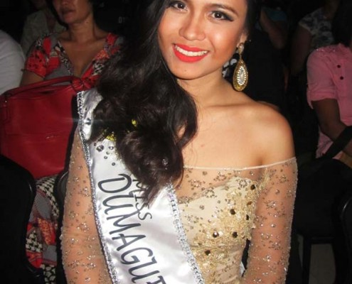 Miss Dumaguete 2nd Runner up Banaybanay