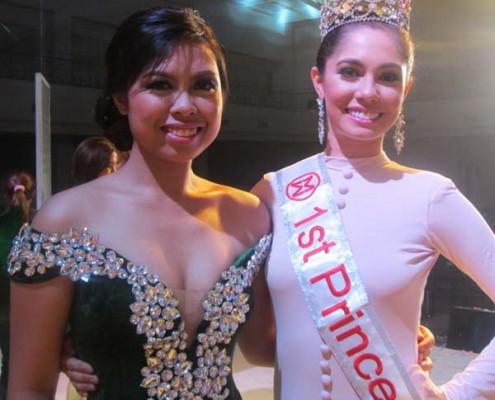 Miss Dumaguete 2014 & Queenie Maria Escobilla Guibao