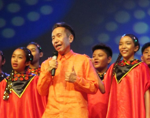 Dr.Rico Absin and Mandaue Children's Choir