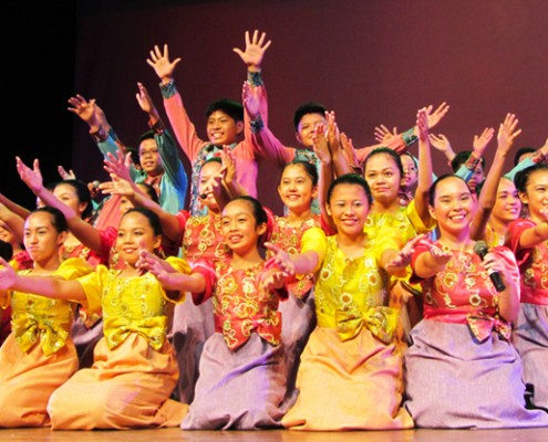 Mandaue Children's Choir in Dumaguete