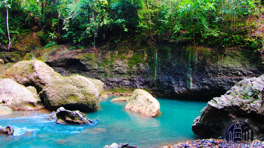 Lamangyan River flow Mabinay Negros Oriental