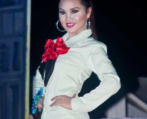 Miss Bayawan 2015 - Business attire