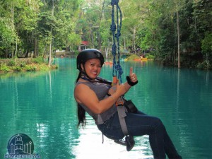 Zip-Line in Mabinay