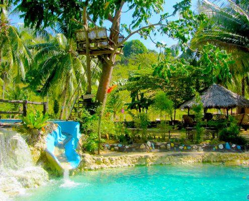 bayawan city eden spring resort swimming pool