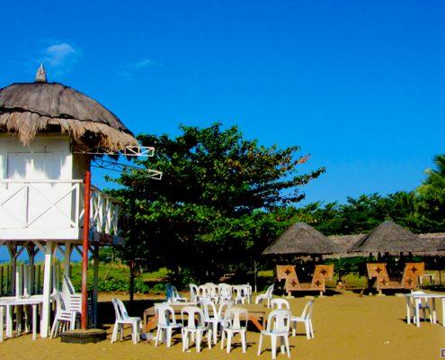bayawan city talipapa bikini beach bar white house tower