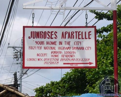 Junroses Apartelle in Bayawan
