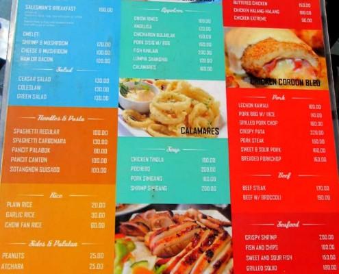 C&L - Bayawan Resturant Menu