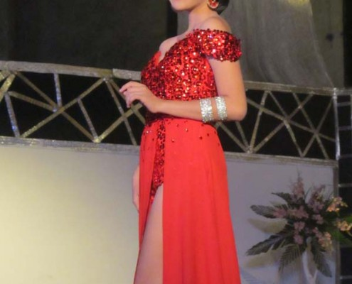 Miss Basay 2015 - Evening Gown