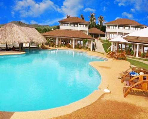 Pool at Salamangka Beach Resort