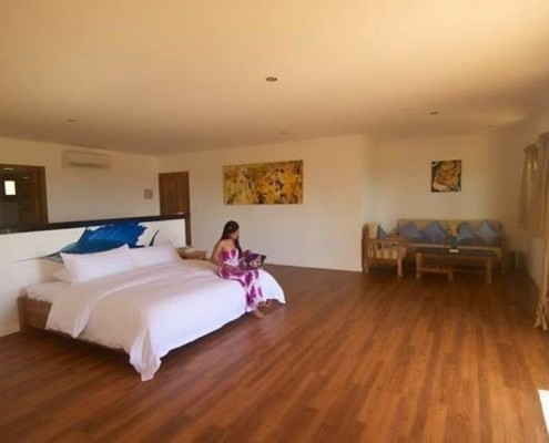 Rooms at Salamangka Beach Resort