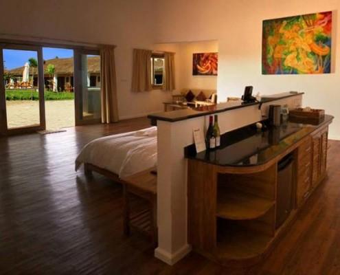 Rooms at Salamangka Beach Resort