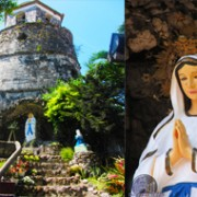 Dumaguete-bell-tower-and-Chruch-mama-mary