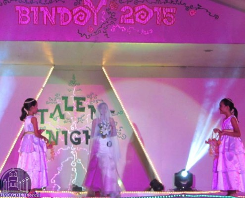 Talent Night Miss Bindoy 2015