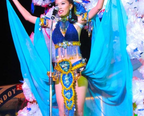 Miss Bindoy 2015 - Festival Costume