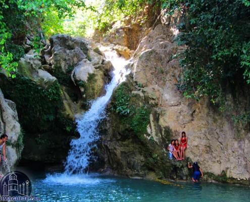 Mainit Falls in Guihulngan
