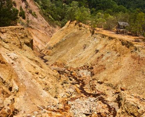 Copper Mine in Basay