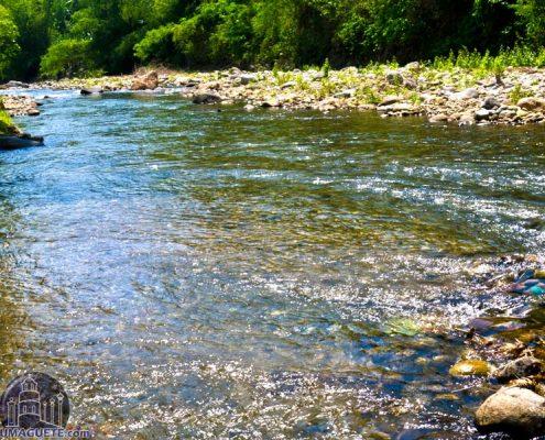 Tourist Spots in Amlan - Clean River