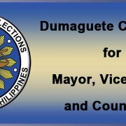 Candidates for Mayor of Dumaguete