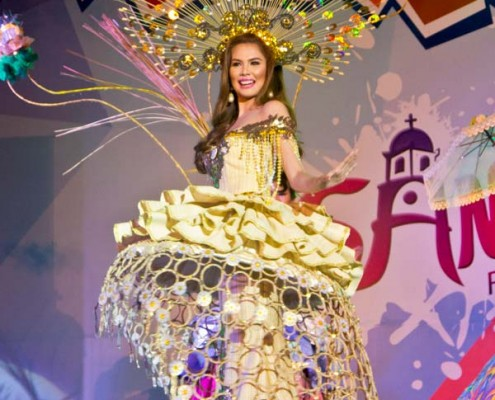 Miss Dumaguete 2015 - Festival Gown