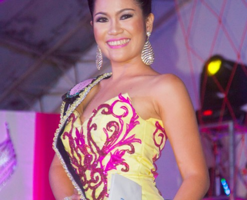 Miss Siaton 2015 - Evening Gown
