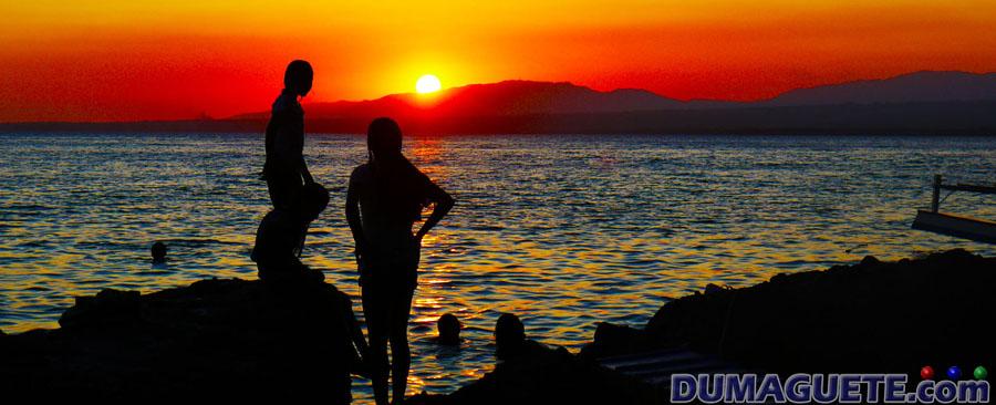 Apo Island Sun Set