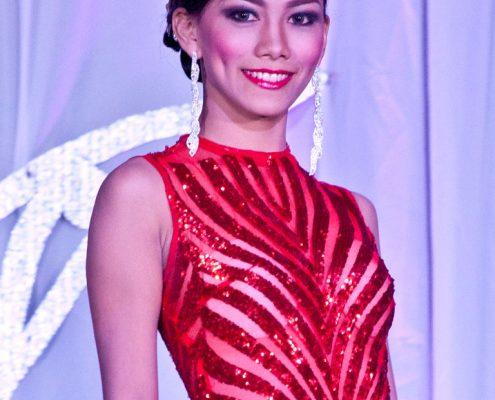 Miss Vallehermoso gown