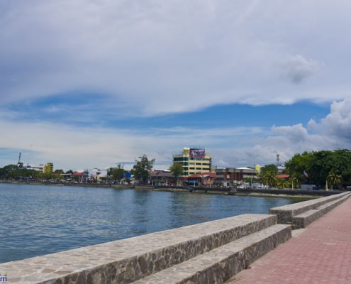 Dumaguete Sea Port Boulevard side