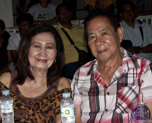 Tayasan Mayor Ruperto and his wife